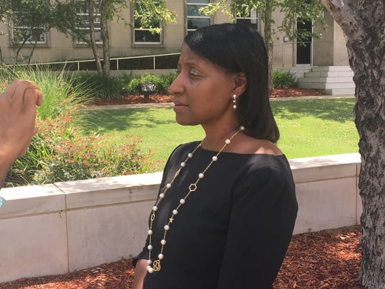 Jackson attorney Lisa Ross at a press conference on May 28, 2019, said Jackson police chief James Davis should have responded immediately to allegations one of his officers sexually assaulted a minor.