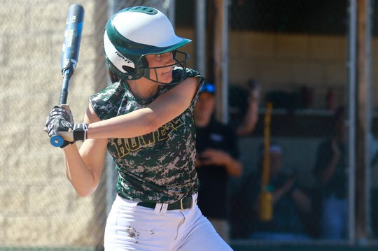 AJ Militello hit two home runs for Howell in games against South Lyon East and Millington.