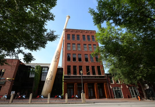 The Louisville Slugger Museum & Factory. May 24, 2019