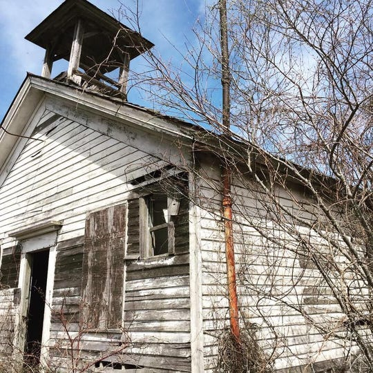 Merle Beach School, on South DeWitt Road in St. Johns, was built in 1865. It functioned as a one-room schoolhouse until 1966. Now it's for sale.