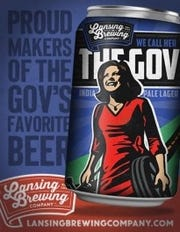 Lansing Brewing Company named its latest brew, The Gov, in honor of Michigan Gov. Gretchen Whitmer