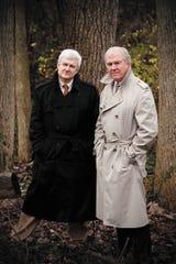 """The Killer Across the Table"" authors John Douglas and Mark Olshaker."