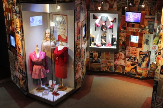 Dollywood's Chasing Rainbows is a museum featuring interactive and behind-the-scenes collections, stories and memorabilia from Dolly Parton's life and career.