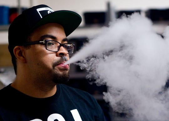 Jamel Harris is director of e-liquid formulation for Brew City Craft E-Juice vapes.  After switching to vaping as an alternative to cigarettes, Harris has found that his sense of taste has changed dramatically.