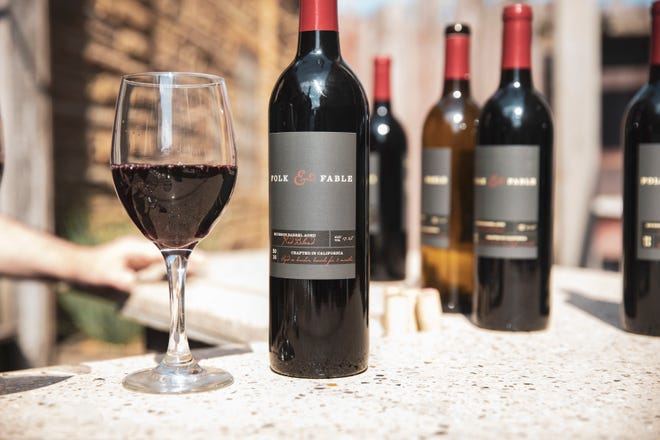 Milwaukee-based wine company Bright Cellars is selling its Folk & Fable wine in local stores and restaurants.