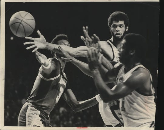 Kareem Abdul-Jabbar was a larger-than-life figure in the NBA, but he eventually expressed a desire to move to either Los Angeles or New York.