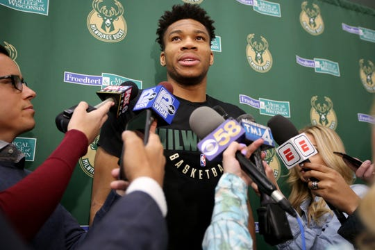 "Milwaukee Bucks star Giannis Antetokounmpo has sued a Pennsylvania artist who was selling ""Greek Freak"" merchandise."