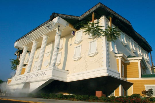 WonderWorks is a top attraction in Pigeon Forge, Tennessee.