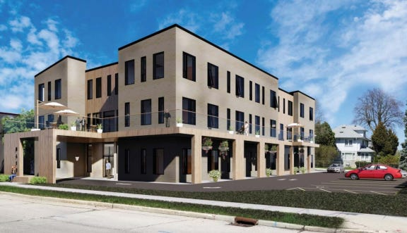 An assisted living center would replace a vacant office building under a new proposal pending in West Allis.