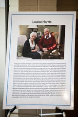 "Louise Harris, wife of Carlyle ""Smitty"" Harris, a Vietnam POW for eight years, speaks about her experiences at Maxwell Air Force Base in Montgomery, Ala., on Tuesday, May 28, 2019."