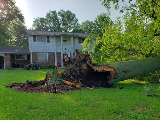 NWS: Tornado touched down twice in Henry County