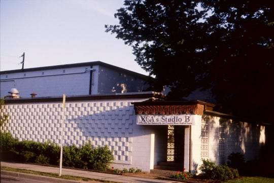 "RCA Studio B, here May 12, 1989, is another one of the ""signature"" buildings on Music Row that has helped the area establish its identity. The studio is now owned by the Country Music Hall of Fame and Museum."