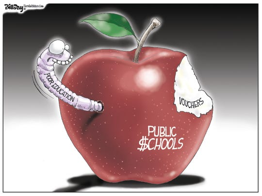 school vouchers' bite of apple