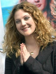 Actress Drew Barrymore in 2004