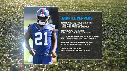wholesale dealer 93346 b13ae Quick Look: North Jersey Native Jabrill Peppers