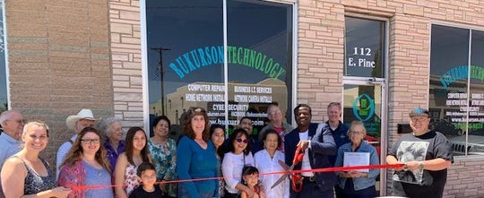 Members of the Deming-Luna County Chamber of Commerce held a ribbon-cutting ceremony to welcome the Bukurson Technology as a new business venture in downtown Deming, NM. The ceremony was held on Saturday, May 18, 2019 at the business located at 112 E. Pine St. At Bukurson Technology, your cyber security is paramount, and their top-notch repairs, solutions and professional services are there to support you. To request support, visit https://www.bukurson.com or call them at 575-639-9828 for immediate assistance. They are open from 9 a.m. to 5 p.m., Monday through Friday.
