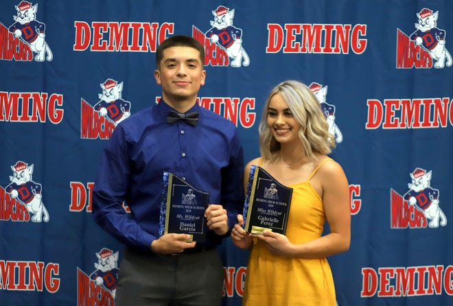 Daniel Garcia and Gabi Perez were selected as the 2019 Mr. and Miss Wildcat Award at the second annual Deming High School All-Sports Banquet.