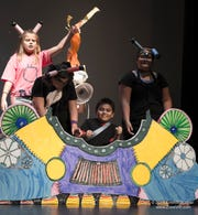 Students perform their original music drama in a previous year's Opera Storytellers Camp.