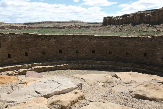 Casa Rinconada is pictured, Tuesday, May 28, 2019, at Chaco Culture National Historical Park.