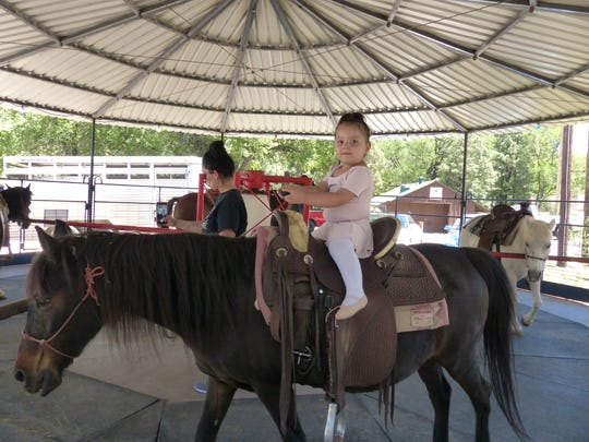 Ride'em little princess cowgirl.