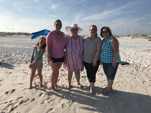 Grandma With Terminal Cancer Visits Navarre Beach Thanks To
