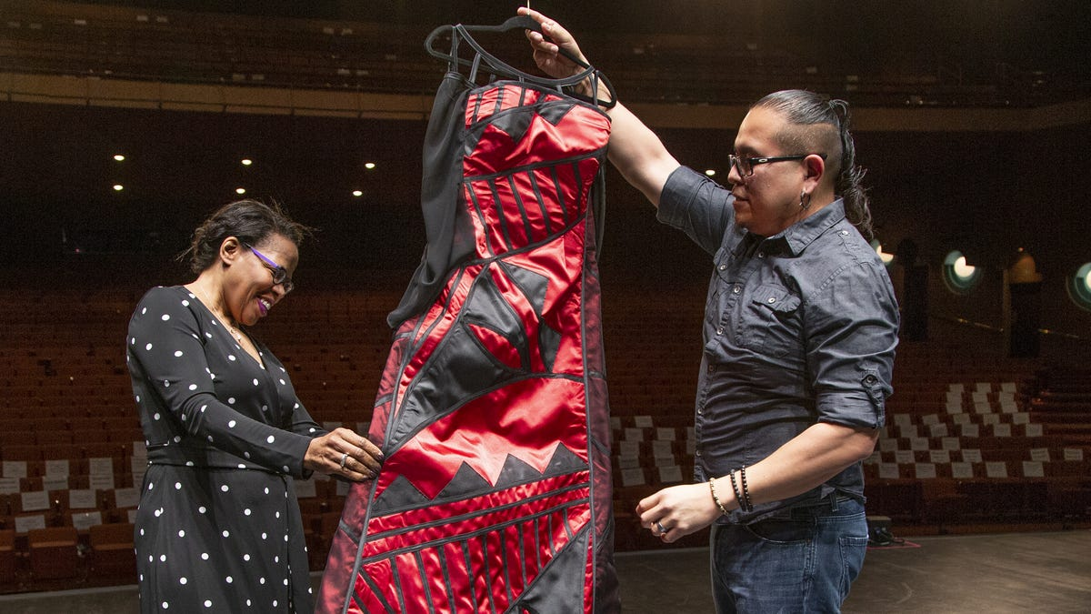 Native American Designer Loren Aragon Creates Look For The Tony Awards
