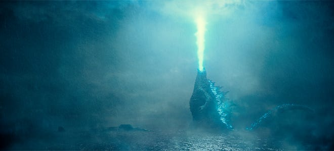 "Things get fiery in ""Godzilla: King of the Monsters."""