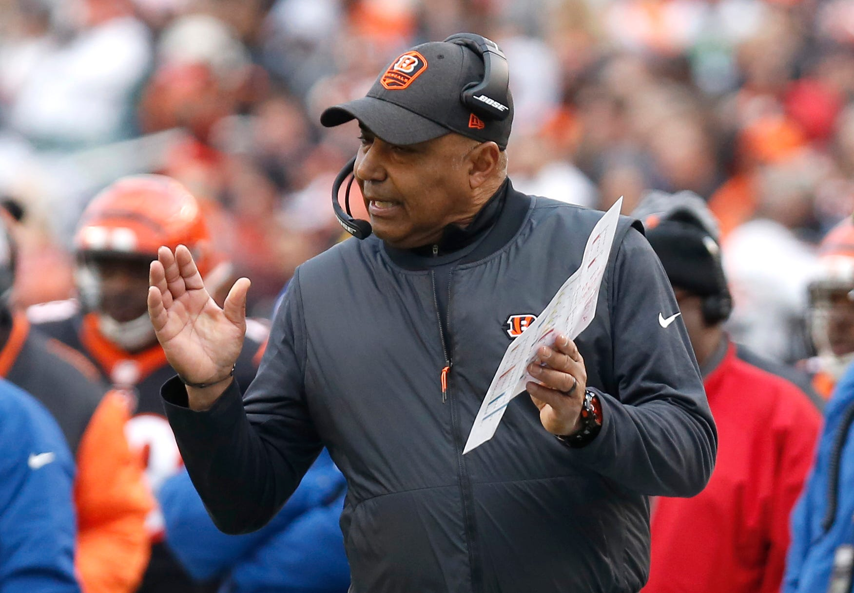 Ex-Bengals coach Marvin Lewis joins Arizona State football staff