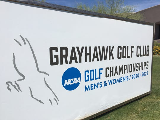 Scottsdale's Grayhawk Golf Club will be host site for the NCAA men's and women's championships from 2020-22.
