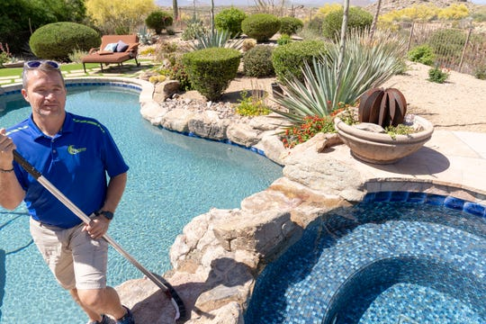 Chad Nikkel has made pool water chemistry a driving force behind his company.