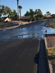 Since 2017, Bullard Wash has flooded through the PebbleCreek neighborhood in Goodyear. The city commissioned a report in 2018 to find the source of the water.