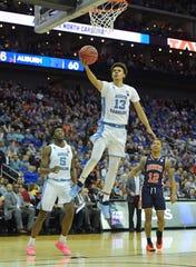 No. 21: North Carolina guard Cameron Johnson