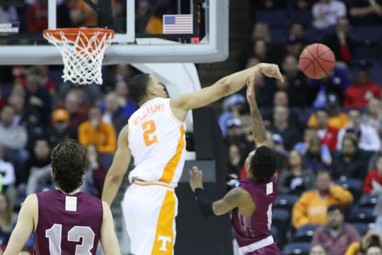 No. 24: Tennessee forward Grant Williams