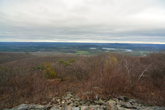 A view from the summit of Bear Mountain.