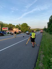 Two motorcycle riders suffered significant injuries in a crash on Monday evening, Newberry Township Police say.