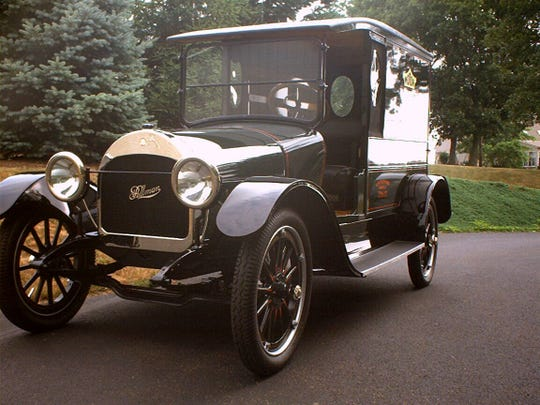 A 1917 Pullman Model 4-24 will be up for auction June 8 at the York Expo Center.