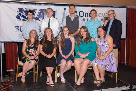 Southern Nevada Recipients of 2019 NIAA/One Nevada Top 10 Student-Athlete Scholarships.