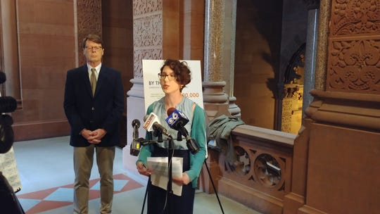 Liz Moran, environmental policy director for NYPIRG, explains the findings of the latest NYPIRG report detailing emerging contaminants in drinking water throughout the state.