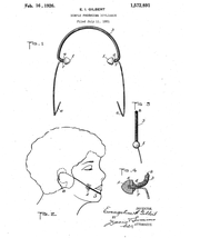 Diagram of the dimpler used for the 1921 patent application.