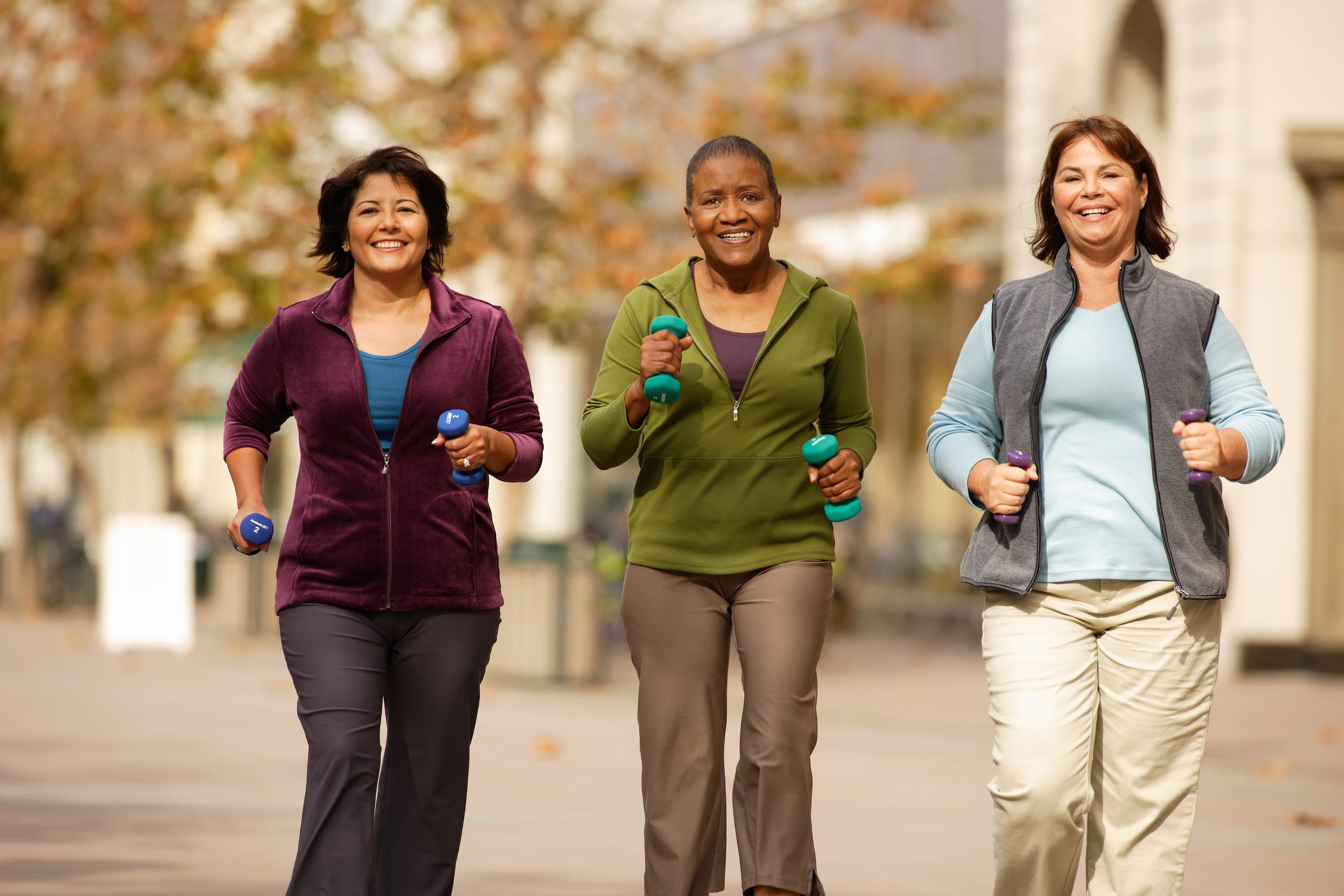 Getting healthy doesn't have to be a solo act. Grab some friends and start a walking group.