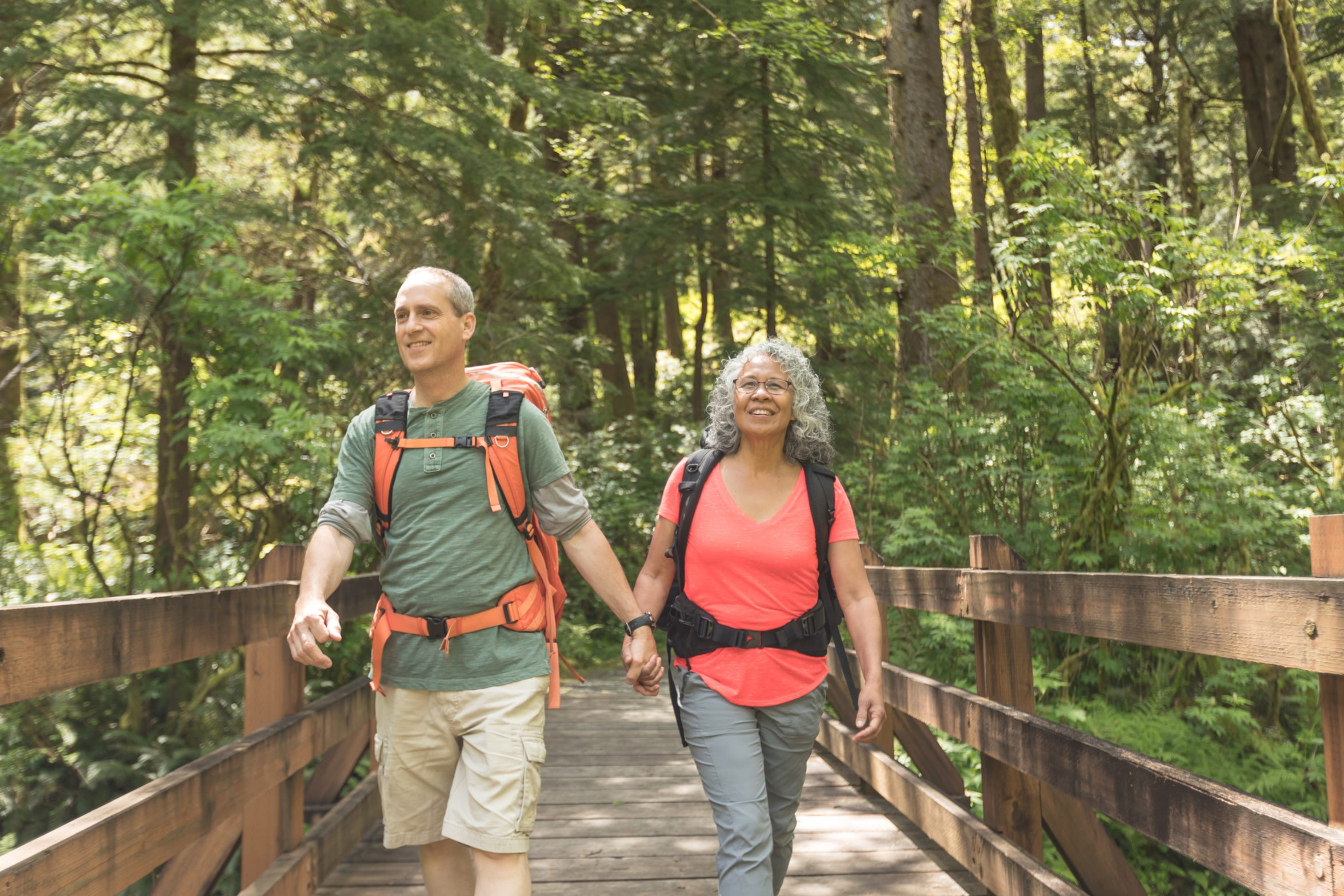 The Willamette Valley offers many outdoor opportunities to help reduce stress and improve health. If you're just starting out, check with your physician and start slow.