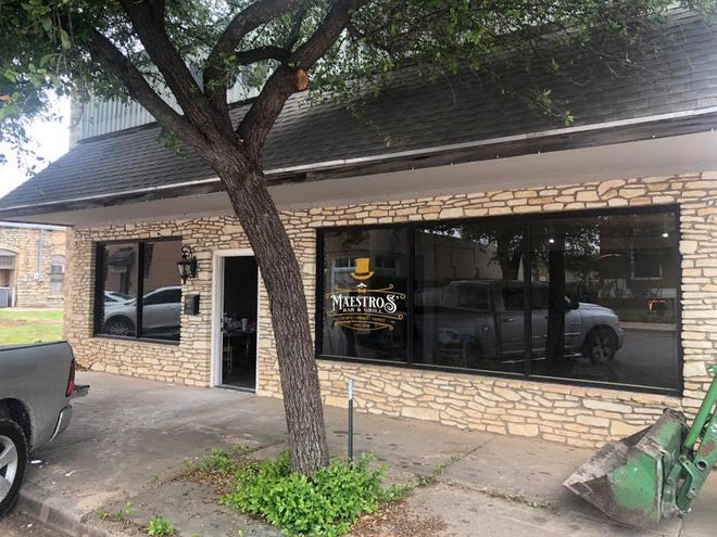 Maestros' Bar & Grill, 111 S. Park St., is set to open in Ballinger this summer.