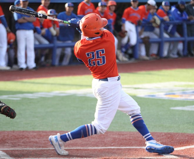 San Angelo Central High School's Nixon Brannan is the Offensive MVP of the 2019 All-District 3-6A Baseball Team.
