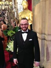 James Ledwell attends an Oscars event.