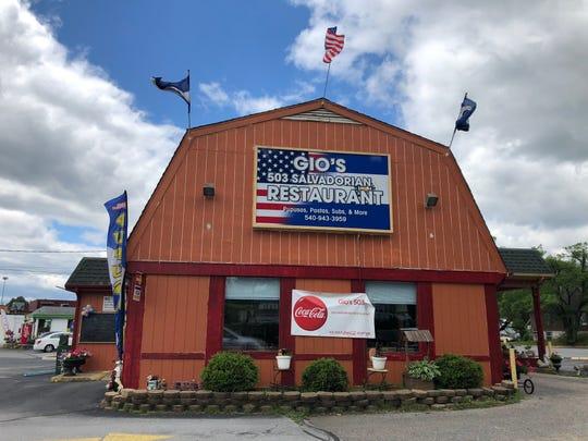 Gio's 503 Salvadorian Restaurant located on East Main Street in Waynesboro.