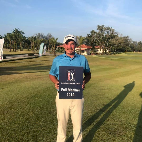 Former Florida High and West Florida golfer Henry Westmoreland is playing on the PGA Tour Series-China.