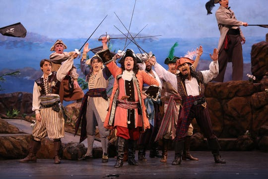 """""""The Pirates of Penzance""""  presented by the New York Gilbert and Sullivan Players"""