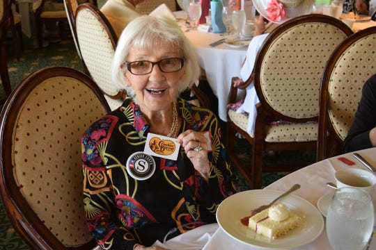 """At age 101, Cookie Nelson was recognized with the """"Female Vintage Award"""" at the United Way of Martin County RSVP Volunteer Appreciation Luncheon."""