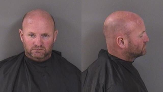 Jimmy Landon, 46, of Vero Beach, was arrested after deputies said he fled through heavy traffic on a motorcycle at speeds over 100 mph.