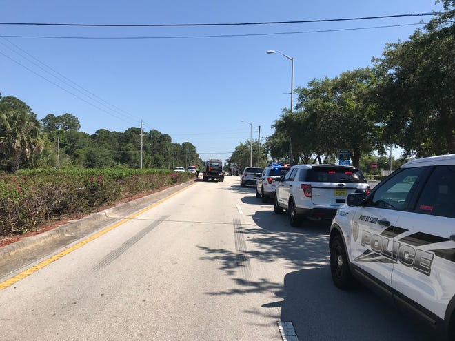 Two people are dead after a crash in Port St. Lucie Tuesday afternoon.